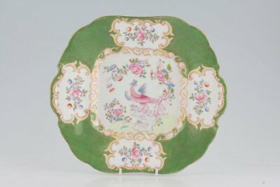 Minton - Cockatrice - Green - 4863 - Cake Plate - 186277G