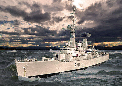 HMS ANZIO HAND FINISHED 25 LIMITED EDITION