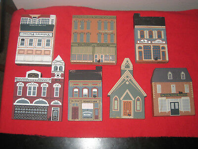Cat's Meow, Series VIII - Lot of 7 - Town Hall, Waldorff Furniture, etc.