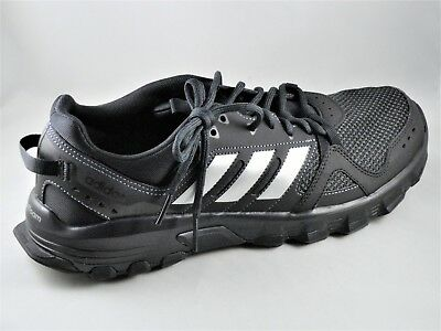 0db8e9b43 Mens Adidas Rockadia Trail Black Sport Athletic Running Shoes CG3982 Choose  size