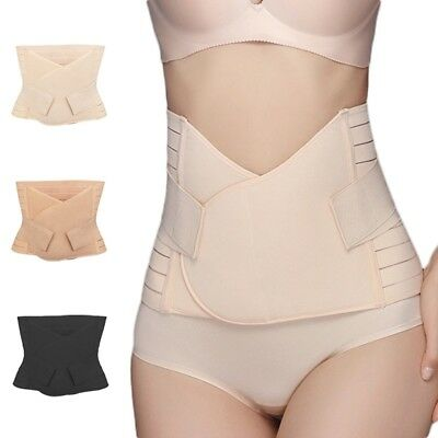 Postpartum Belly Belt Soft Abdominal Recovery Band Postnatal Support Girdle Belt