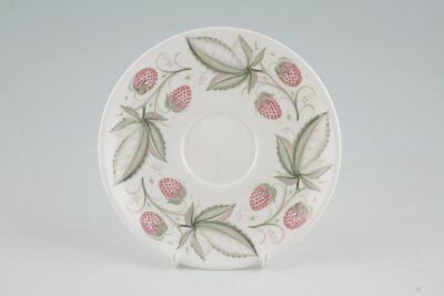 Susie Cooper - Wild Strawberry - Plain Edge - Tea Saucer - 88750G