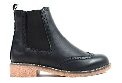 Ladies New Pull  On Elasticated Ankle Black fashion Women Boot UK Size 3-8