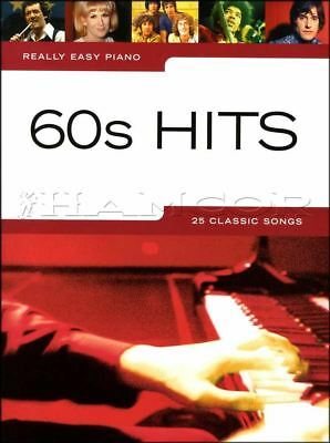 Really Easy Piano 60s Hits Sheet Music Book