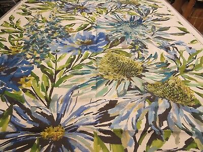 Harlequin Fabrics Pattern Floreale 1.6 Yd x 54 In Floral Linen Fauvisimo