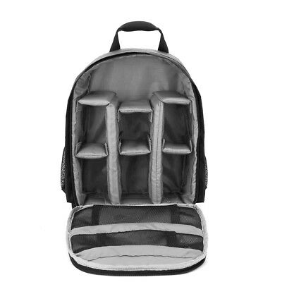 Outdoor Small DSLR Digital Camera Video Backpack Water-resistant D2Q8
