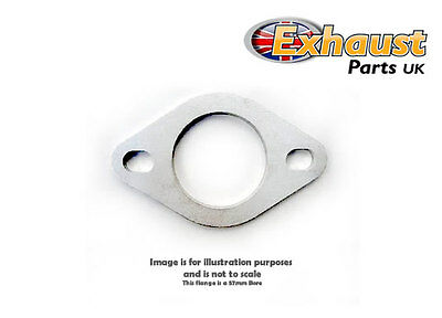 "63mm 2.5"" Bore Stainless Steel 304 Exhaust Flange - 2 Bolt Universal Flanges"