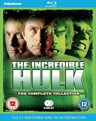 THE INCREDIBLE HULK - THE COMPLETE C (UK IMPORT) Blu-Ray NEW