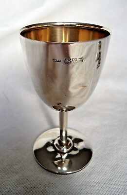 Antique Chester  1922 Solid / Sterling Silver Goblet / Cup