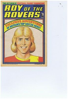 18 x 1978 Roy of the Rovers Comics   Ex Cond