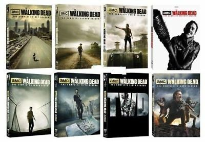 The Walking Dead Complete Seasons 1-8 Season 1 2 3 4 5 6 7 8 NEW