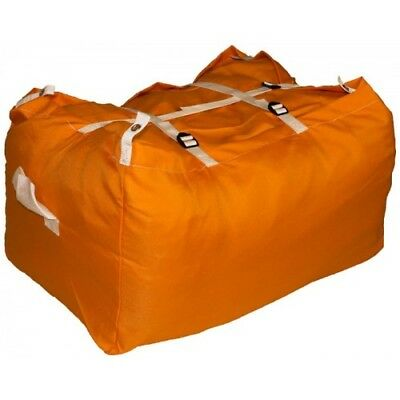 10 x ORANGE ULTRA STRONG LAUNDRY HAMPERS COMMERCIAL GRADE - SPECIAL OFFER