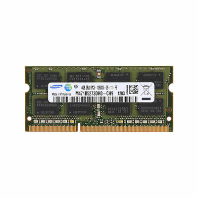 New 4GB PC3-10600S DDR3 SDRAM 1333MHz 204Pin CL9 So-dimm Memory RAM For Samsung