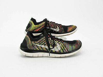 9a22a15689be Nike Free 4.0 Flyknit Men Athletic Running Shoes Size 10M Pre Owned JJ