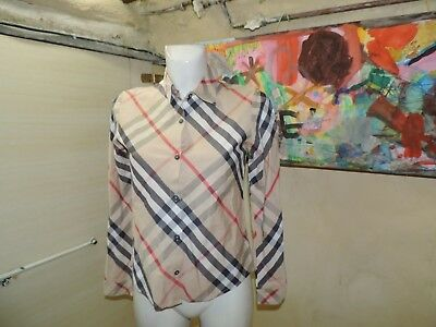 "Chemise Burberry  Taille 14 Ans "" Model Fille """