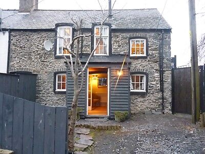 February 1/2 Term & Easter 2019 Unique North Wales Character Holiday Cottage