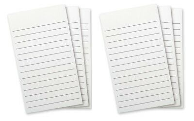 #8509 - WELLSPRING Refill Pads White With Lines for FLIP NOTE CASE - 6 pads