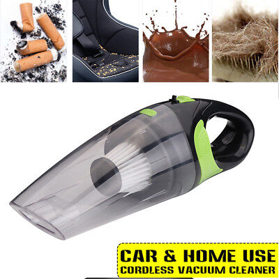 120W Portable Rechargeable Vacuum Cleaner Wet Dry Cordless For Car Home Handheld
