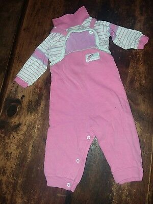 Vintage Healthtex  Baby Roller Skating Outfit 12 Months