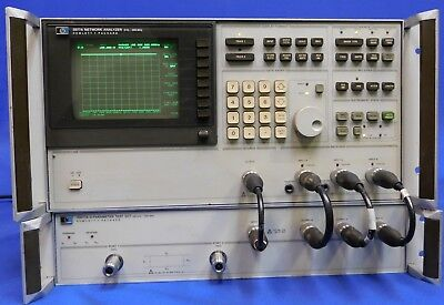 Agilent HP KT 3577A Network Analyzer 200MHz & 35677B S-Parameter Untested As Is