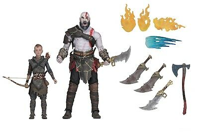"God of War (2018) - 7"" Scale Action Figure Set - Ultimate Kratos & Atreus - NECA"