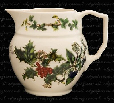 PORTMEIRION THE HOLLY AND THE IVY STAFFORDSHIRE JUG 0.5 pint