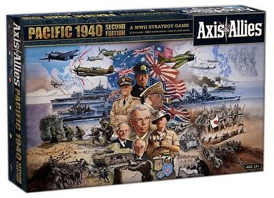 GW JM2115604   Avalon Hill Board Game Axis & Allies Pacific 1940 2nd Edition eng