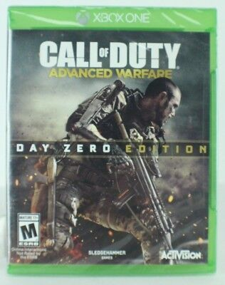 Call of Duty Advanced Warfare Day Zero Edition Xbox One NEW