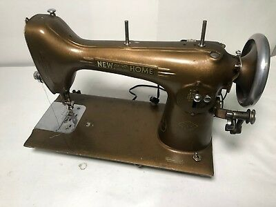Vintage New Home Light Running  Sewing Machine Model NLB 279515