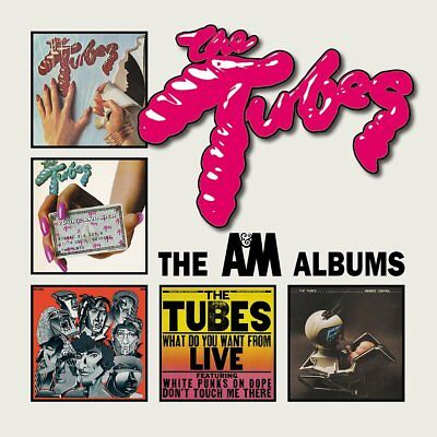 THE TUBES  The A&M albums  5CD BOXSET