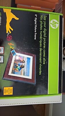 HP Electronic Picture Frame Model df800b2