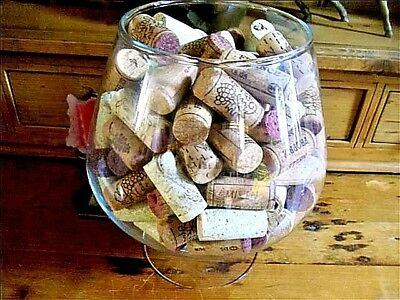 LOT of 125 ASSORTED WINE CORKS ~USA & FOREIGN~FREE SHIPPING/TRACKING