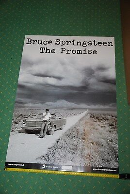 """BRUCE SPRINGSTEEN Poster promozionale Album SONY """" The Promise """" 96 X 67 cm"""