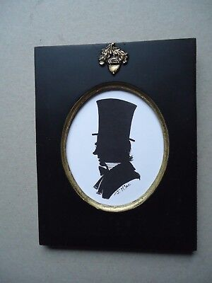 Silhouette  Of  A  Top  Hat  Man