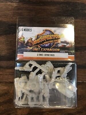 Monsterpocalypse: G-Tanks Repair Truck Unit Expansion - Brand New