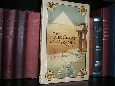 Original THE GREAT PYRAMID Spiritual Symbolism Morton Edgar C Russell Watchtower