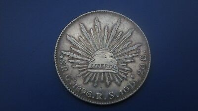 MEXICO 8 Reales 1896 RS