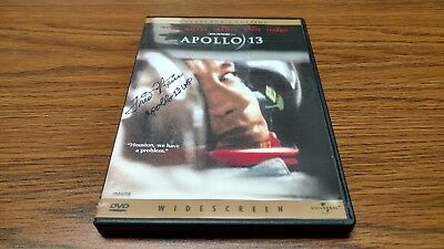 Apollo 13 Dvd New Autographed By Fred Haise