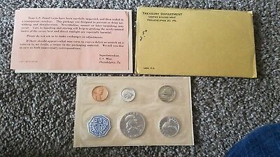 1963 US Mint Proof Set with COA and Original Government Packaging #4