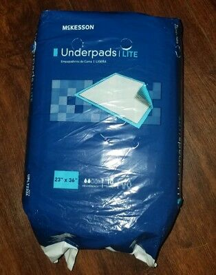 "McKesson Disposable Underpad Fluff / Polymer 23 X 36"" UPLT2336 150 /Case"