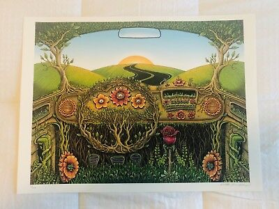 Emek Art Print Flower Car (FULL SIZE)
