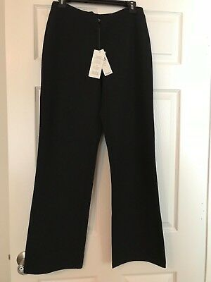 Nwt—Eileen Fisher Womens Pants—Retail $198 Viscose Stretch Straight Pant
