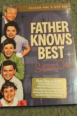 Father Knows Best - Season One (DVD, 2008, 4-Disc Set, Closed Caption)