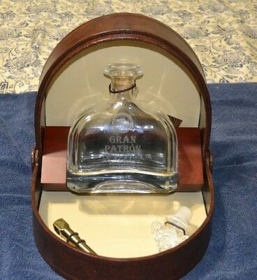 Gran Patron Burdeos 750ml Empty Bottle w/Bee Stopper Signed and Numbered