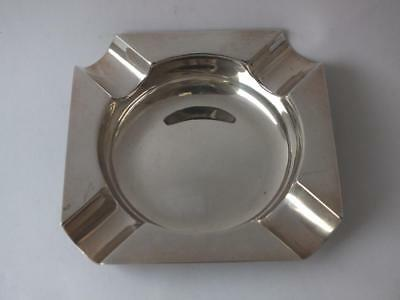 Dainty Solid Sterling Silver Ash Tray 1972/ L 6.6 cm/ 20 g