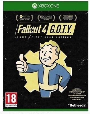 Fallout 4 Game of the Year Edition   (GOTY , Xbox One)