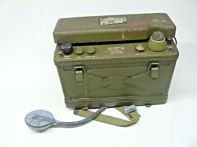 Wwii Bc-1000-A  Military Radio 1943 Signal Corps