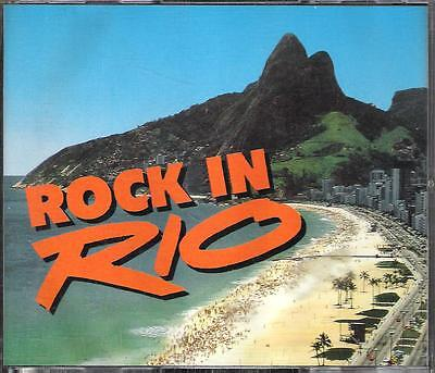 "Judas Priest Guns 'n 'roses Santana Joe Cocker-2 Cd Italy Only 1991""rock In Rio"""