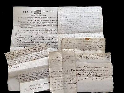 1700-1800s Collection of Old Historical Manuscripts