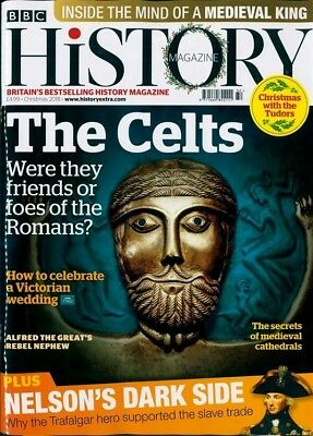 Bbc History Magazine Christmas 2018 ~ The Celts ~ Nelson's Dark Side ~ New ~